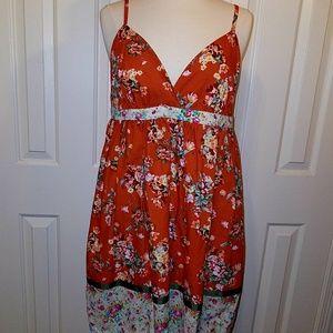 Crafty size L girls dress